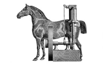 """ที่มาของคำว่า """"แรงม้า"""" ของมอเตอร์"""